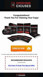 Overcome Excuses Ebook and Videos with Master Resale Rights