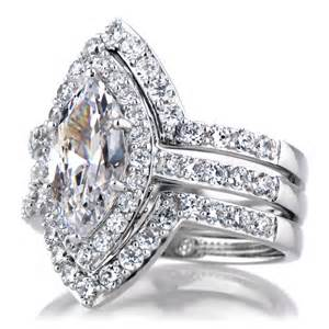 marquise wedding set wedding rings pictures marquise wedding ring sets