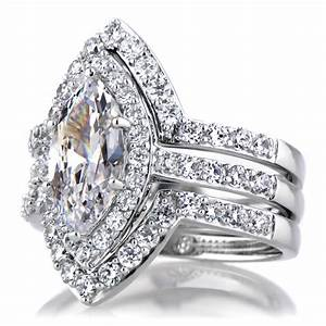 marquise cut wedding rings luxury navokalcom With marquise wedding ring set
