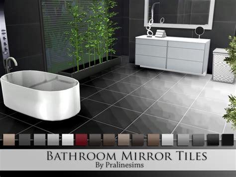 floor mirror sims 4 bathroom mirror tiles by pralinesims at tsr 187 sims 4 updates