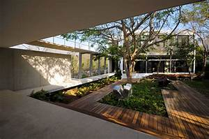 Interior, Courtyard, House, Design, Middle