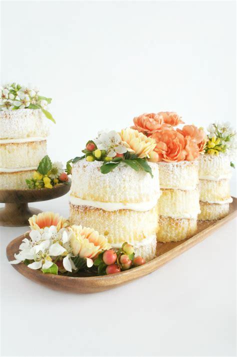 "Diy How To Make Mini ""naked"" Cakes Julep"