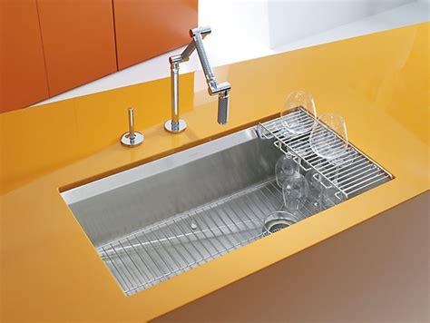 kitchen sink racks stainless k 3673 8 degree mount kitchen sink kohler 5915