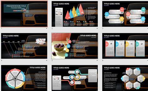 bmw powerpoint template  sagefox  powerpoint