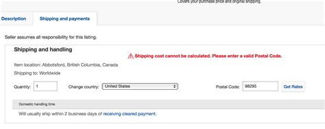 Canada Post Shipping Options On Ebay.ca For Usa A...