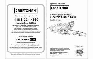 Craftsman 172452470 User Manual Chainsaw Manuals And