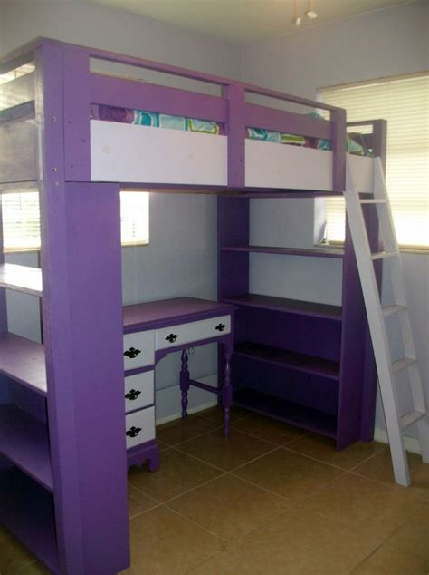 desk  bed combination ideas  teenagers rooms