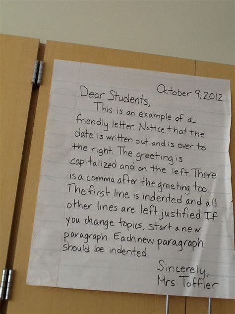 letter writing format ideas  pinterest parts