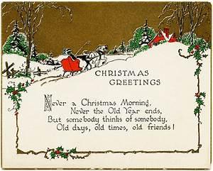 Christmas Card Wish Christmas Lights Decoration