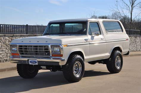 ford bronco ranger xlt   nice restoration