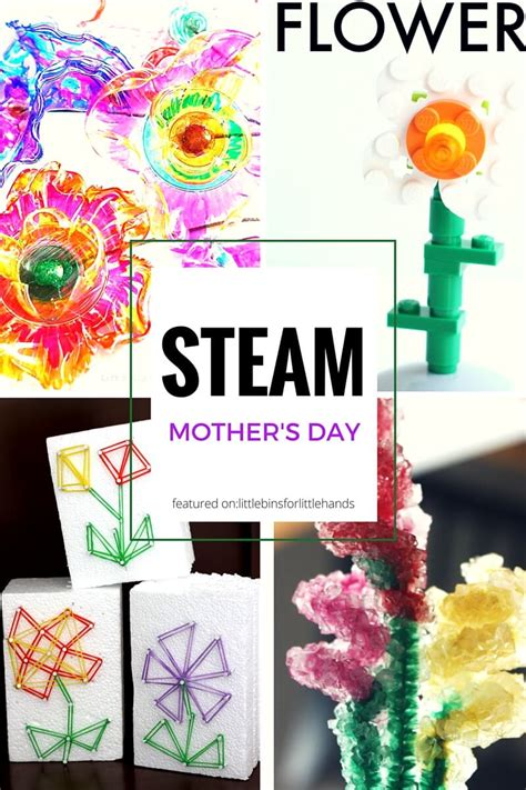 mothers day gifts kids   steam inspired ideas