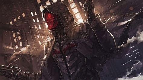 artstation redhood  batmanarkham knight ren wei pan