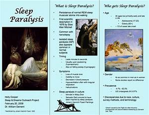 Paul U0026 39  Web Logs  Sleep Paralysis  U0026 Night Visitors