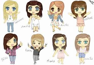 My Chibi Friends!! by mewTalina on DeviantArt