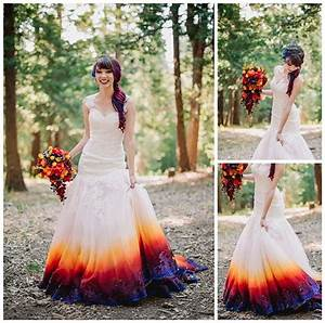 colorful lake arrowhead pine rose cabins wedding world With how to dye a wedding dress