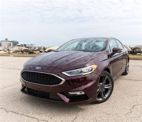 2017 Fusion Sport by 2017 Ford Fusion Sport Review Daily Driver With A Dash Of