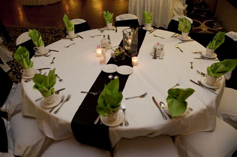 modern concept green wedding decorations with wedding decor lime green and white decorations