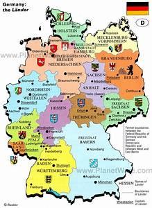 Willkommen In Germany Die Bundeslnder Mit Hauptstadt