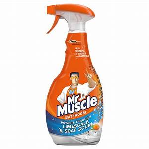 mr muscle bathroom toilet cleaner spray With mr muscle bathroom and toilet cleaner