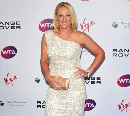 british number  tennis player elena baltacha