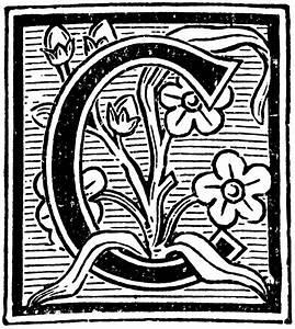 Floral Decorative C   ClipArt ETC