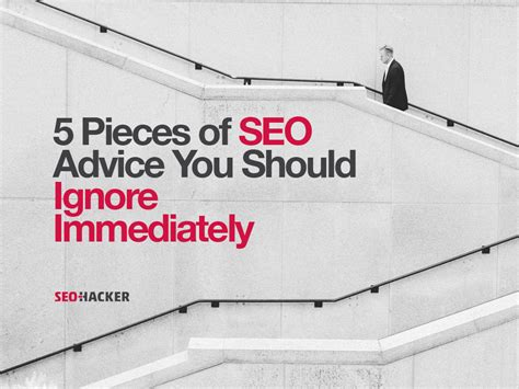Seo Advice by Immediately Ignore Seo Advice Like These