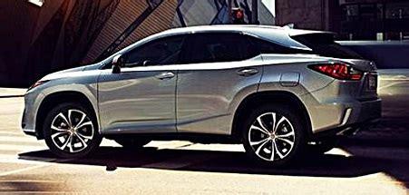 lexus rx  redesign  price auto toyota review