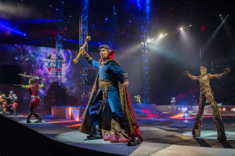 Marvel Universe Live Is A Circus Full Of Your Favorite