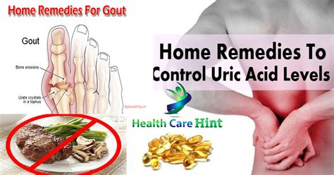 uric acid naturally joint treat pains