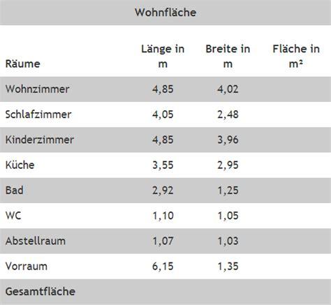 Wohnfläche Berechnen Dachschräge by Kurs M6 Wohnfl 228 Che Berechnen