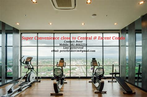 1 Bedroom Condos For Rent by 1 Bedroom Condo Rental At Escent Condo Chiang Mai Chiang