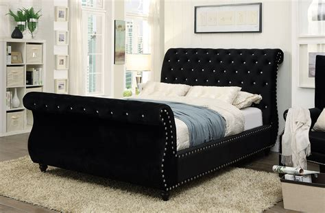 noella fabric sleigh bed collection las vegas furniture