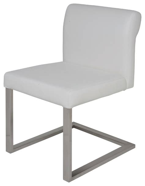 bruno leather dining chair contemporary dining chairs