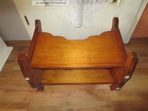 Antike Esstische Holz : antike wiege aus massiven holz puppenwiege f r antike puppe puppenstube ~ Michelbontemps.com Haus und Dekorationen