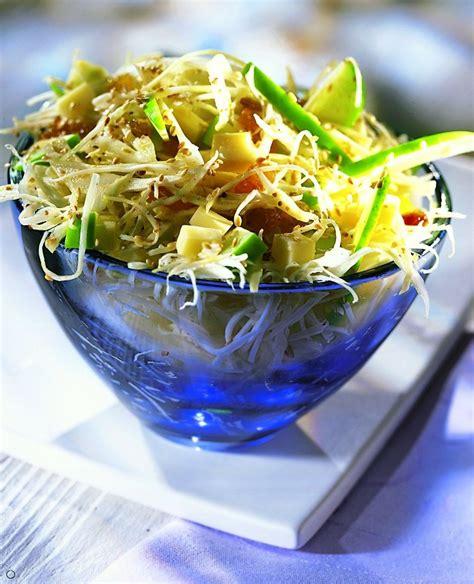 cuisine et vins de recette recette salade de chou blanc au sésame