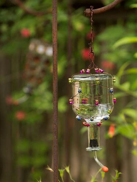 how to make a tequila bottle hummingbird feeder