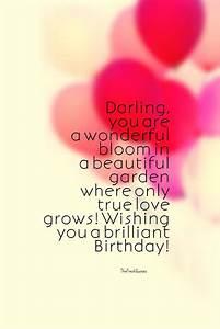 30+ Happy Birth... Beautiful Love Birthday Quotes