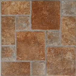 vinyl flooring tiles paver stone vinyl floor tiles 20 pcs self adhesive flooring actual 12 x 12 ebay