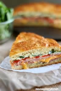 Italian Baked Sandwich Crescent