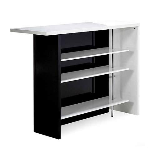 meuble cuisine 1er prix bar bicolore grand modèle basil tables hautes bars