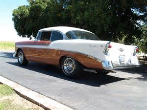 56 Chevy with Rally Wheels