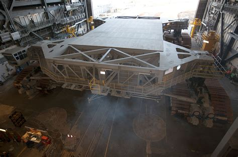 NASA celebrates crawler-transporters first 50 years with ...