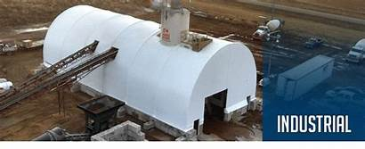 Industrial Fabric Building Buildings Structures Temporary Storage