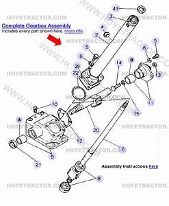 Steering Internal  Yanmar Tractor Parts