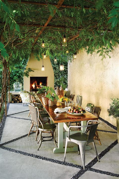 falls  outdoor rooms southern living