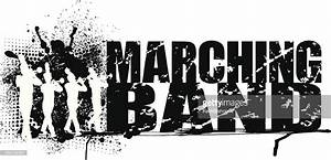 Marching Band Grunge Graphic Background Vector Art | Getty ...