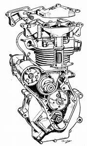 Engine Drawing At Getdrawings