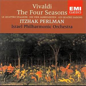 Vivaldi: The Four Seasons by Itzhak Perlman | 77774731928 ...