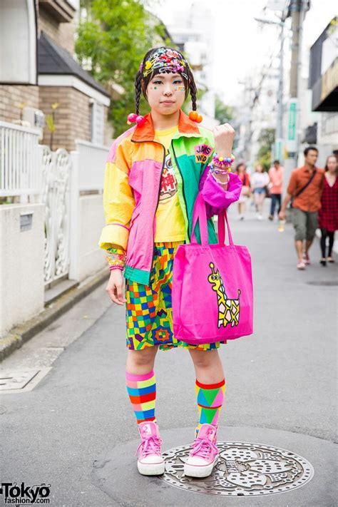 colorful harajuku decora street style  dokidoki jams