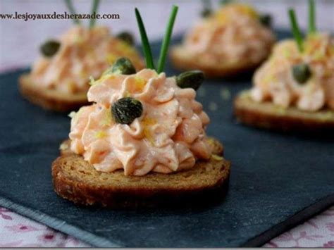 recette canapes pour aperitif les meilleures recettes d 39 entrées et saumon